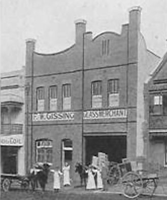 Picture of the original glass factory